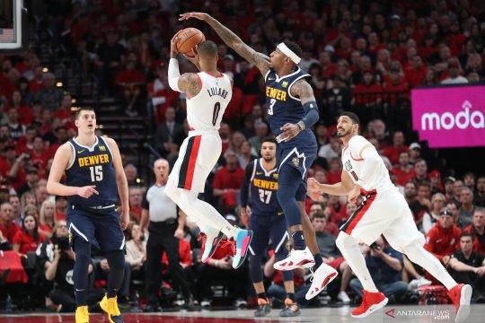 NBA: Nuggets menang atas Blazers 116-112