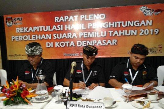 Jokowi-Amin raup 89,55 persen suara pemilih di Kota Denpasar