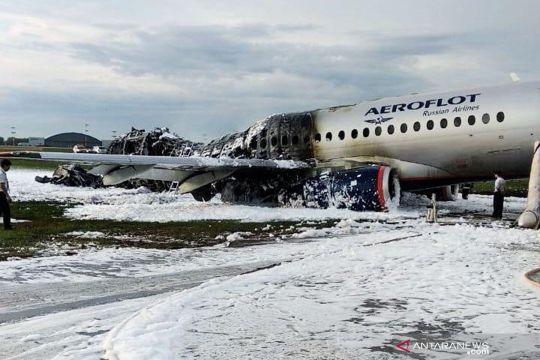 Kecelakaan pesawat Aeroflot Sukhoi Superjet 100 di Moskow