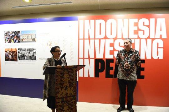 Indonesia gelar pameran foto kontribusi bagi perdamaian dunia