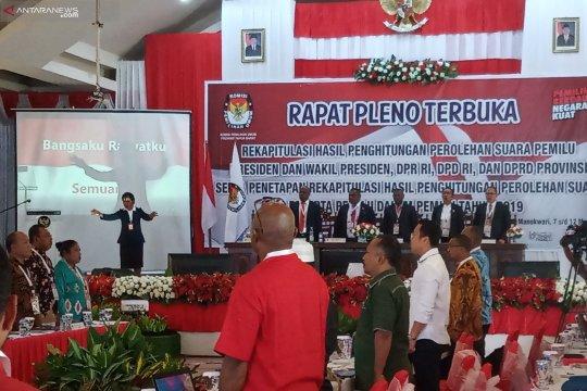 Papua Barat mulai pleno rekapitulasi suara tingkat provinsi hari ini