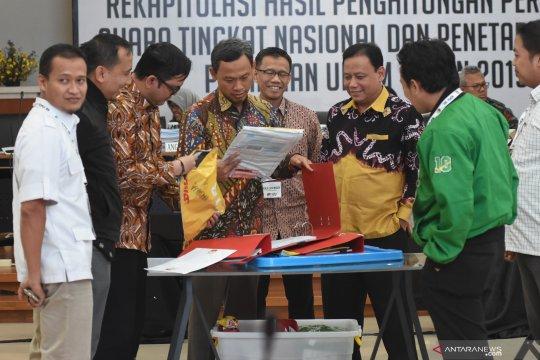 Rekapitulasi hasil penghitungan suara Pemilu luar negeri