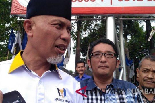 Mahyeldi-Hendri Septa akan dilantik jadi Wali Kota Padang 13 Mei
