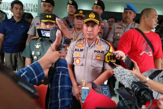 Polresta Tangerang terjunkan 200 personel kawal rapat pleno