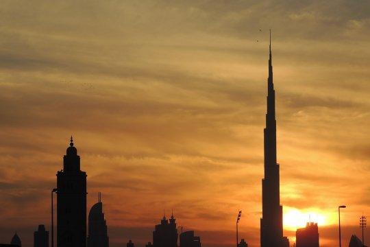 Di Dubai, beda lantai beda waktu berbuka puasa