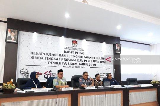 KPU : Baru lima kabupaten sampaikan hasil perolehan suara