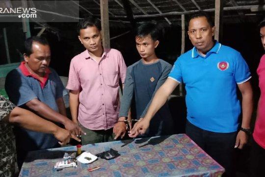 Polsek Gunung Tuleh Pasaman Barat tangkap pengedar narkoba