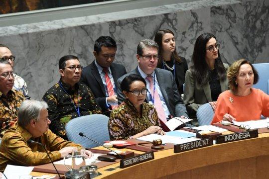 Menlu: pasukan penjaga perdamaian contoh nyata kemitraan global