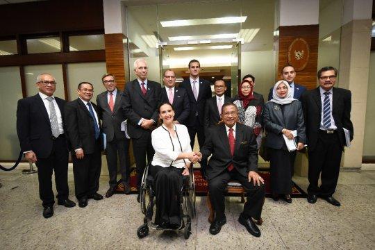 Indonesia-Argentina dorong kerja sama bidang ekonomi
