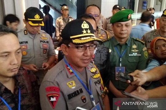 Kapolda Jambi pantau rapat pleno KPU Provinsi