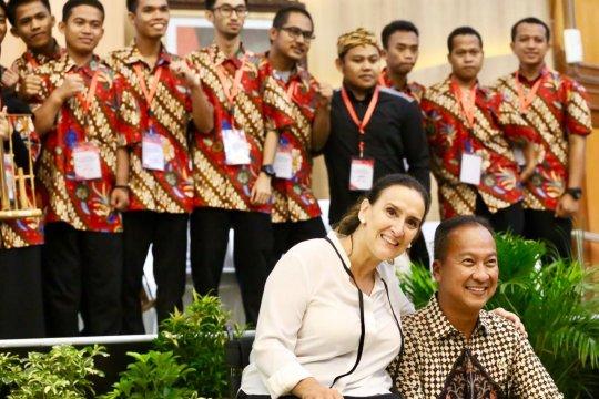 Wapres Argentina memotivasi penyandang disabilitas Indonesia