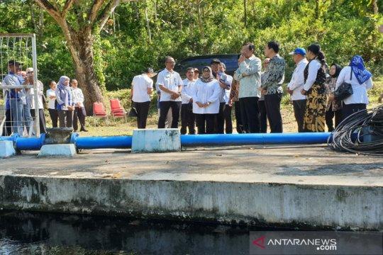 Sultan HB X tinjau proyek sumber air Jambe Bleberan