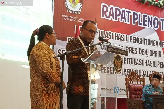 Filep Wamafma raup suara terbanyak kursi DPD Papua Barat