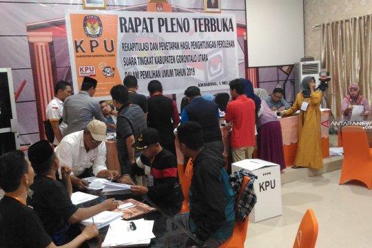 Ini dia parpol peraih suara terbanyak di DPRD Gorontalo Utara