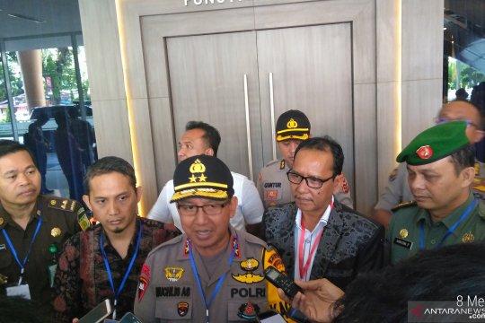 250 polisi dan TNI kawal pleno KPU Provinsi Jambi