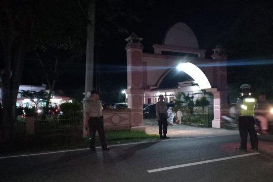 Polres Bangka terjunkan personel pengamanan shalat Isya dan Tarawih