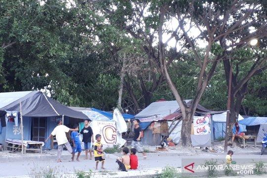 30 persen pengungsi bencana Palu masih tinggal di tenda pengungsian