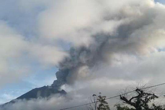 BPBD Karo: Erupsi Gunung Sinabung sudah aman