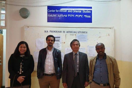 Dubes: Universitas Addis Ababa ingin bermitra dengan Indonesia