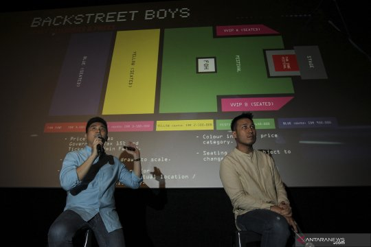 Jelang konser Backstreet Boys