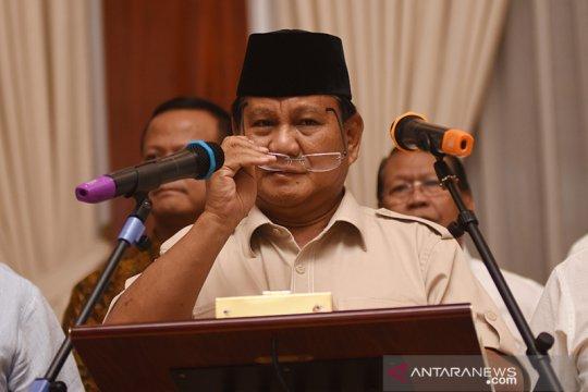 Prabowo imbau aksi pendukungnya berjalan damai