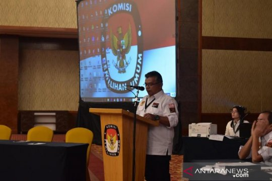 KPU Sumut rampungkan rekapitulasi suara 21 kabupaten