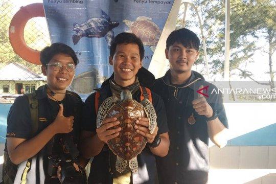 Mahasiswa Thailand belajar konservasi penyu di Bengkulu
