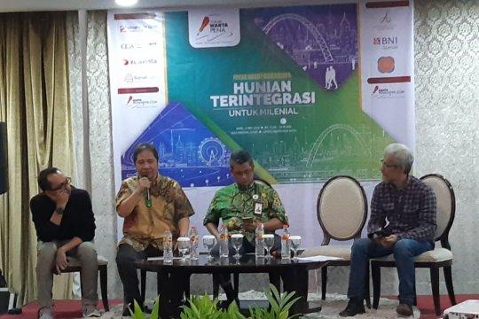 Otoritas minta milenial Jakarta beli rusun nempel stasiun