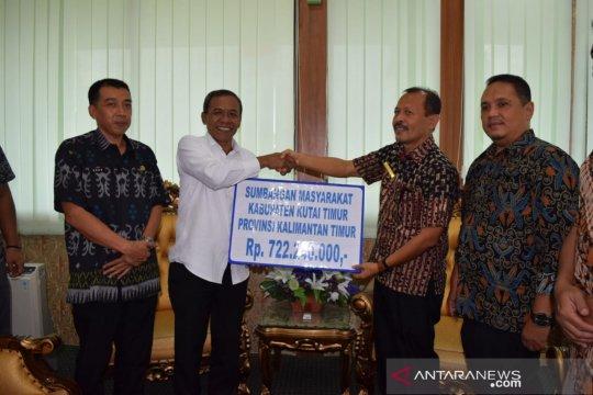 Kutai Timur bantu Rp722 juta untuk korban bencana Palu