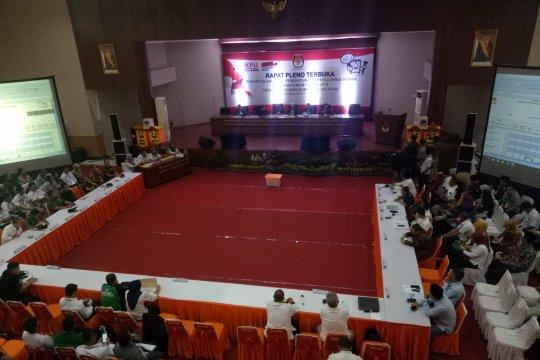 KPU Sumsel plenokan rekapitulasi tingkat provinsi dan kecamatan
