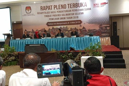 KPU Kalsel tuntaskan pleno 11 kabupaten