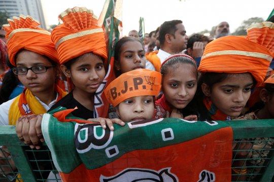 Rakyat India beri suara dalam fase terakhir dari Pemilu tujuh putaran