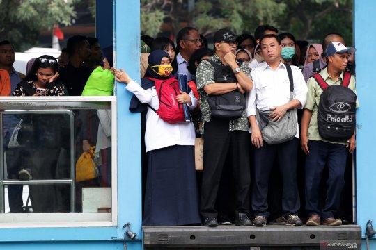 Bus Transjakarta sepanjang jalur Halte Polda-Monas tak dilewati