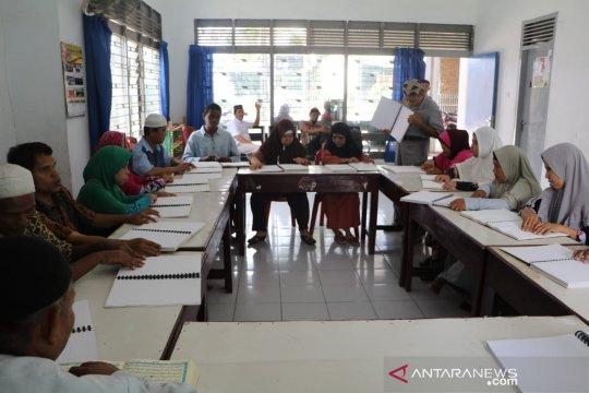 Penyandang tunanetra di Medan gelar tadarus bersama selama Ramadhan
