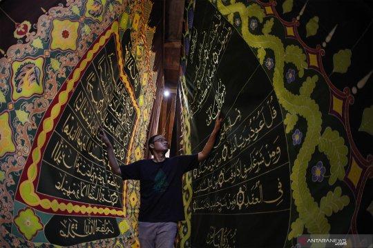 Batik Laweyan dengan motif ayat Alquran