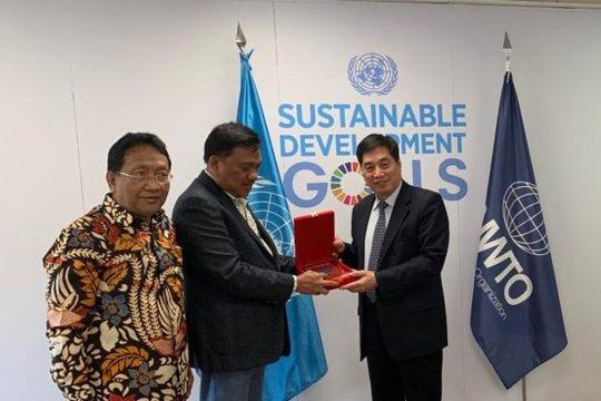 Gubernur Olly temui UNWTO bahas pengembangan pariwisata Sulut