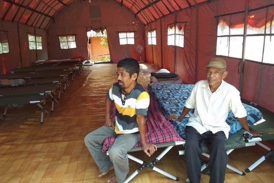 Warga pengungsi korban pergerakan tanah Lebak butuh bantuan