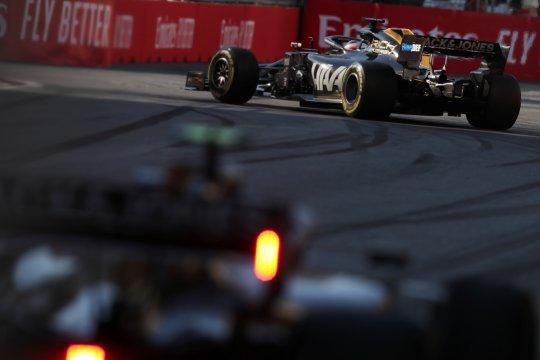 Upgrade bikin Haas seperti baru di Barcelona