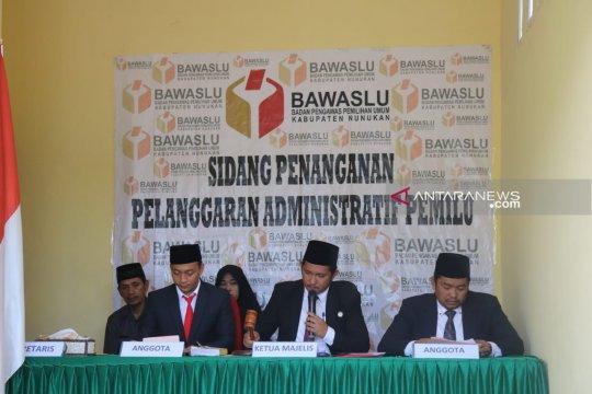 Bawaslu gelar sidang pelanggaran administrasi komisoner KPU Nunukan