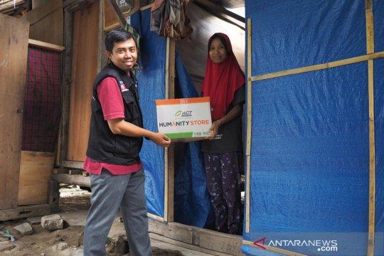 ACT salurkan 1.600 paket pangan gratis korban gempa pulau Lombok
