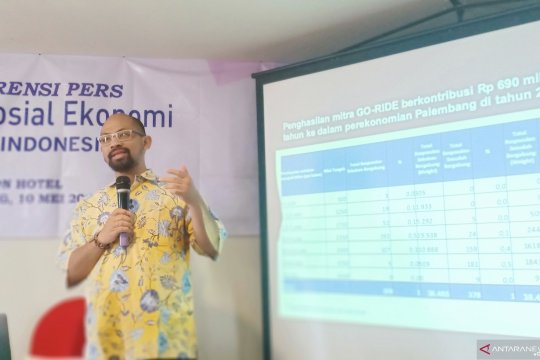 Riset UI : Go-Jek sumbang Rp1,5 triliun pada perekonomian Palembang