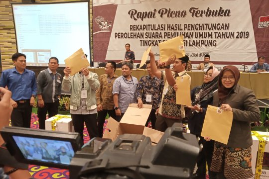 Prabowo-Sandiaga ungguli Jokowi di Bandarlampung