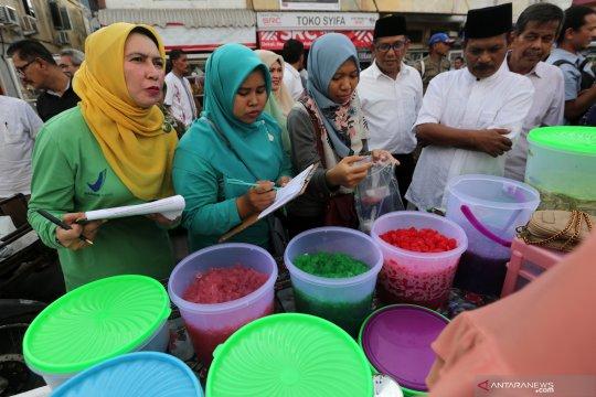 BPOM Sumsel periksa sample makanan di Pasar Bedug