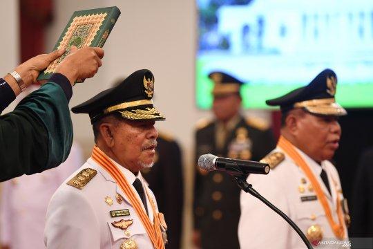 Gubernur Malut  buka puasa bersama ratusan anak yatim piatu