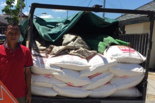 Polres Sambas amankan gula ilegal dari Malaysia