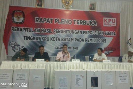 KPU Batam kembali tunda rapat pleno rekapitulasi