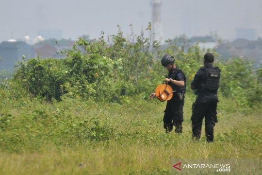 Gegana ledakkan barang bukti bom terduga teroris Bekasi