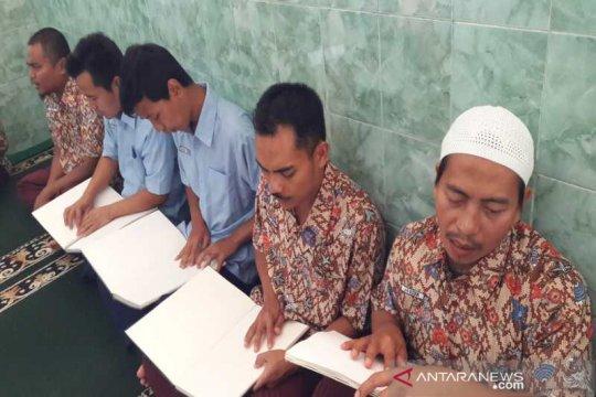 Tadarus Alquran braile semarakkan Ramadhan di Panti Penganthi