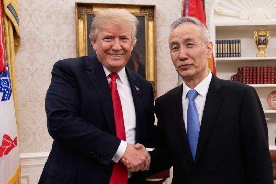 Wakil PM China tiba di Washington untuk perundingan dagang lanjutan