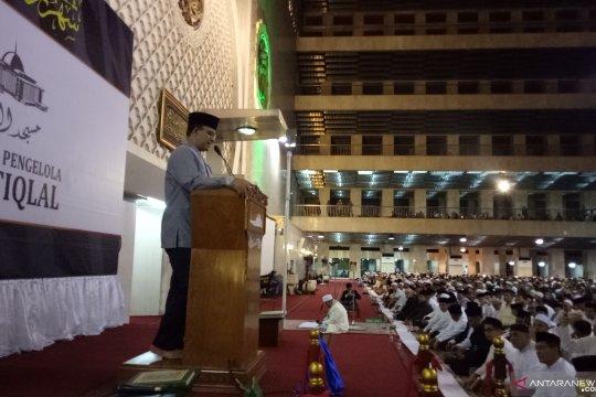 Anies tunaikan Salat Tarawih Akbar di Istiqlal